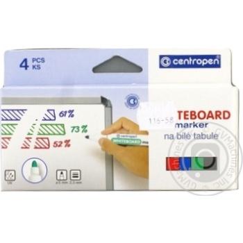 Маркер Board 8559/04, набір 4 шт. (блістер PVC)