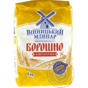 Мука Винницкий Млинар пшеничная высший сорт 1кг - купить, цены на Novus - фото 2