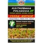 Клітковина Golden Kings of Ukraine рослинна солод житній дієтична добавка 190г - купити, ціни на Ашан - фото 1