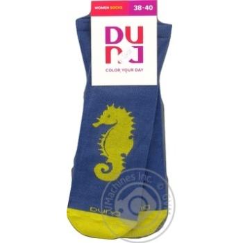 Носки женские Duna р.23-25 джинс - купить, цены на СитиМаркет - фото 3