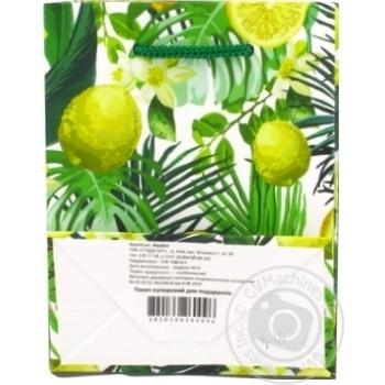 Пакет для подарков бумажный мини в ассортименте - купить, цены на Ашан - фото 4