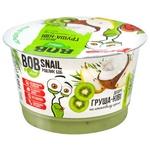 Десерт Bob Snail на кокосовому кремі груша-ківі 180г