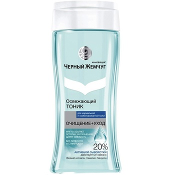 Chernyy Zhemchug Cleansing + Care Refreshing Toner for Normal to Combination Skin 200ml - buy, prices for EKO Market - photo 1