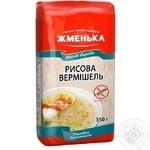Макароны вермишель Жменька 350г