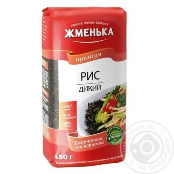 Рис Жменька дикий длиннозерный 450г Украина