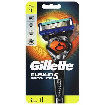 Бритва Gillette Fusion 5 ProGlide Flexball с 2 сменными кассетами