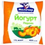 Molochar Peach Flavored Yogurt 1% 400g